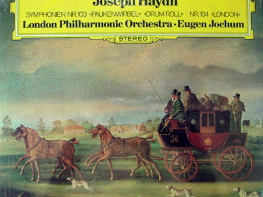 ★Sealed★ DG / JOCHUM,  - Haydn Symphonies No.103 & 104!