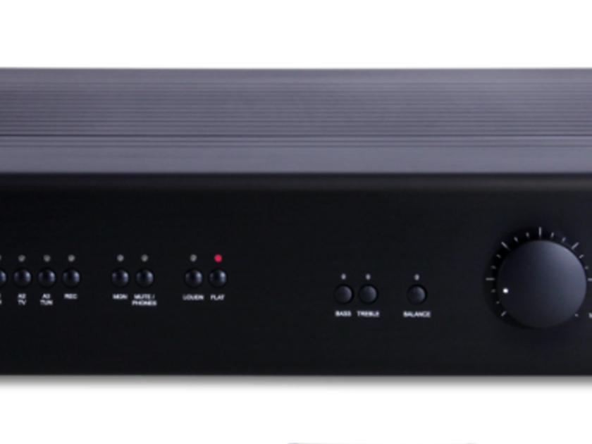 T+A Elektroakustik Power Plant Balanced Integrated Amplifier; Black (7501)