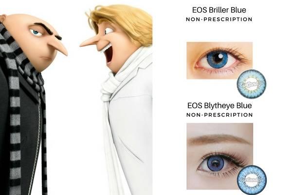 Gru's Blue Eyes