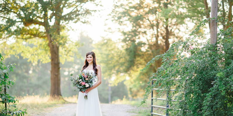 Garden Bridal Portraits