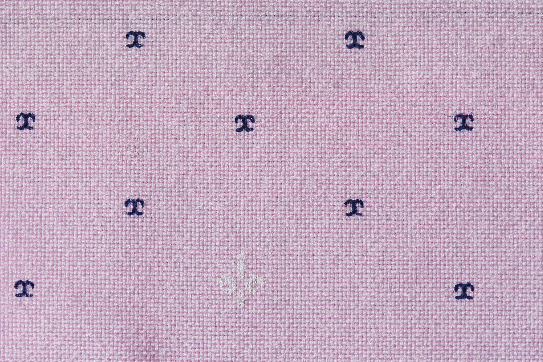 Tailormate | Laksefarvet skjorte med mønster