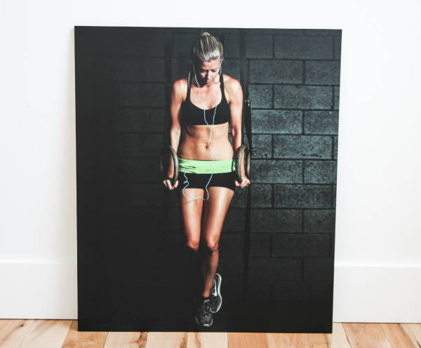 Art & Posters - Work Out Canvas Print