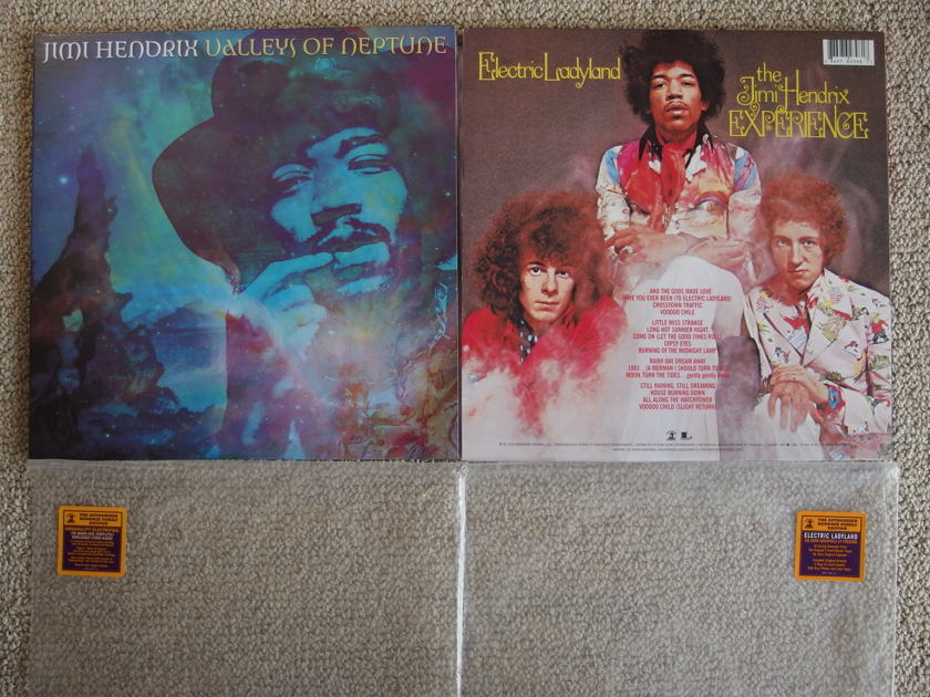 JIMI HENDRIX - Valleys of Nepture/Electric Ladyland 180 gram