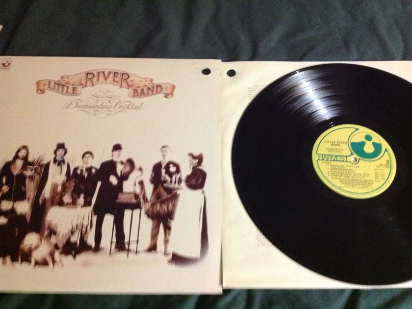 Little River Band - Diamantina Cocktail LP NM Harvest Label Wally Cut