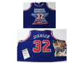 Magic Johnson Signed All-Star Jersey