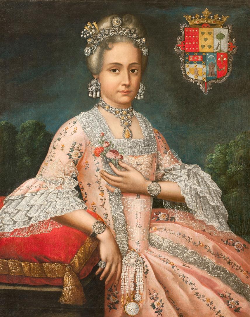 Portrait of Doña Rosale de Salazar y Gabiño