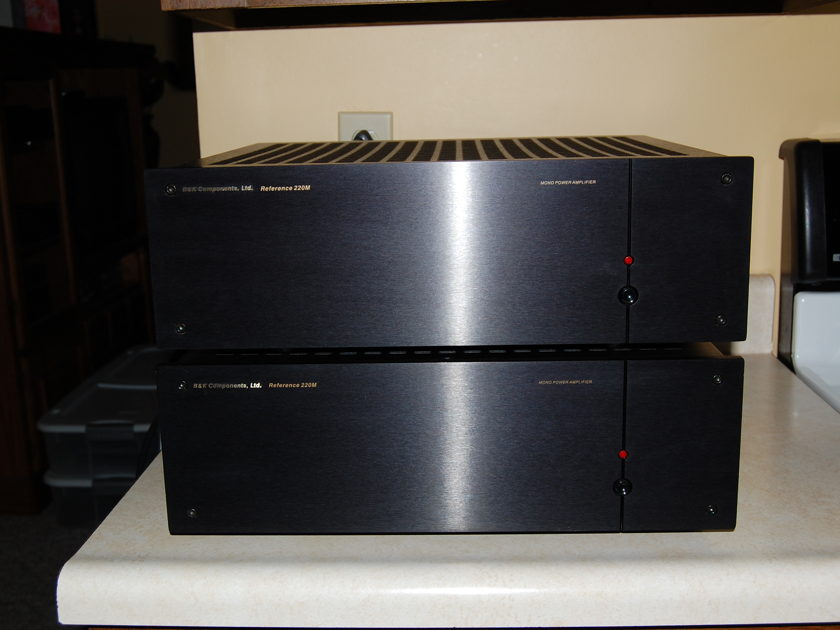 B&k Components Reference 220M mono amplifier