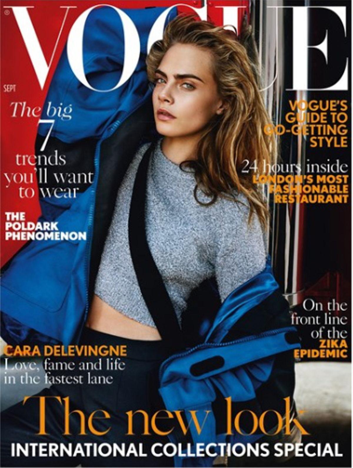 British Vogue Bote A MAno
