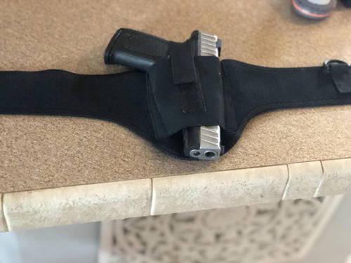 vertical shoulder holster, gun shoulder holster, tactical shoulder holster