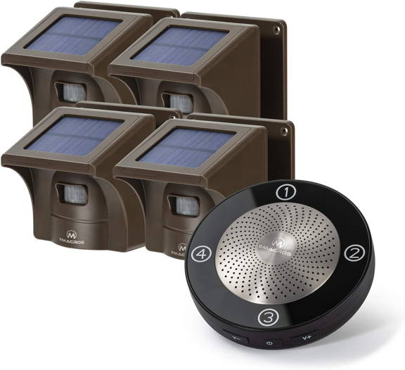 solar driveway alarm,