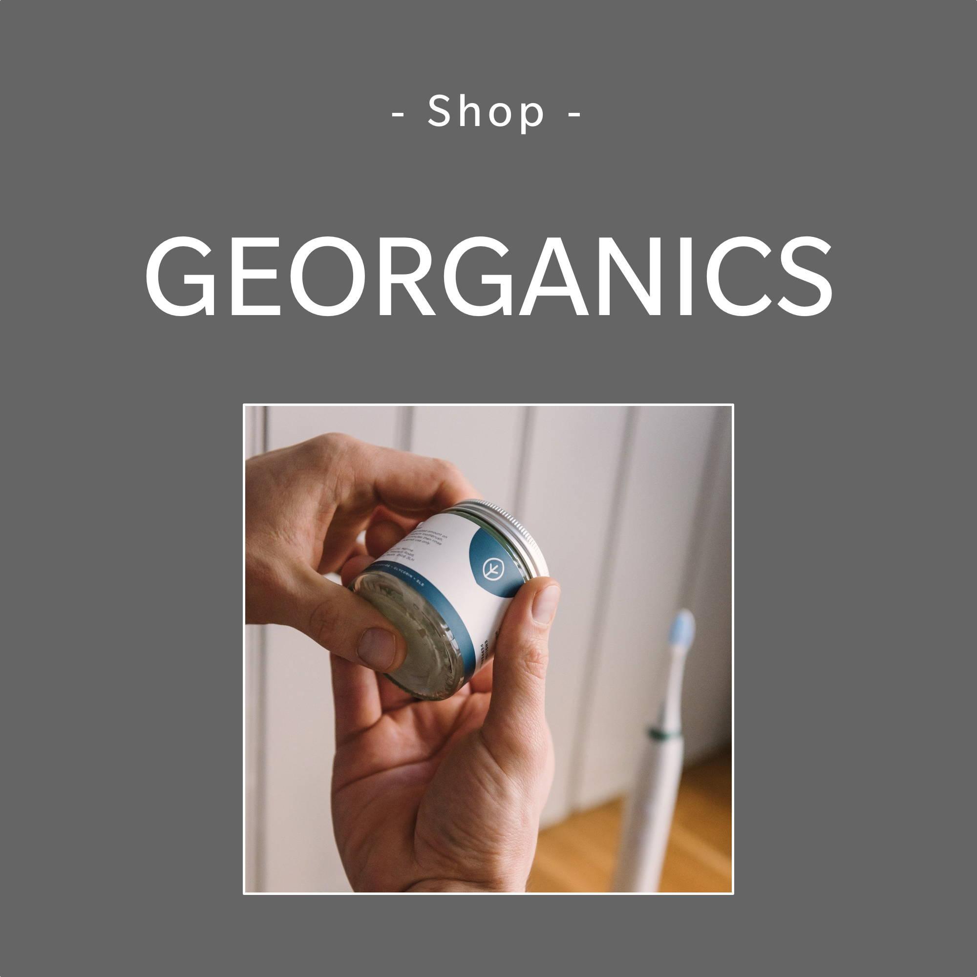 Georganics Brand Page