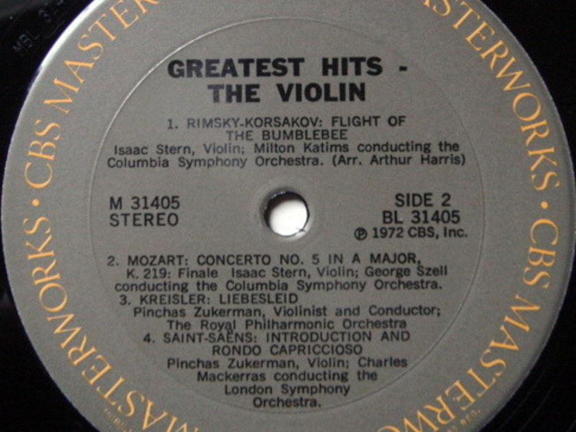 Columbia / STERN-ZUKERMAN, - Violin Greatest Hits, NM-!