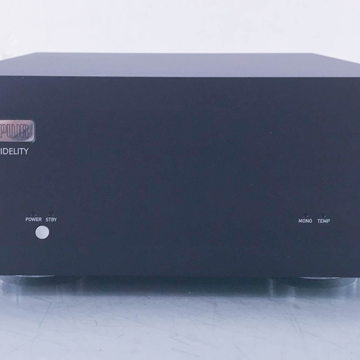M1PWR Stereo Power Amplifier