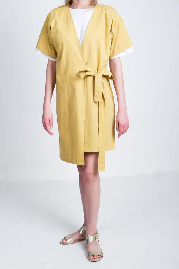 Платье-кимоно с запахом