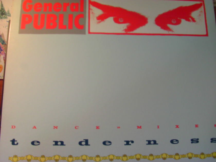 """GENERAL PUBLIC - TENDERNESS/NEVER DONE THAT 3 SONG 12"""" 45"""