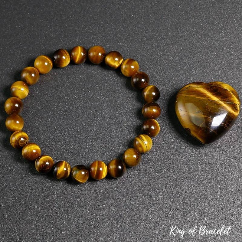 Bracelet en Perles Oeil de Tigre - King of Bracelet