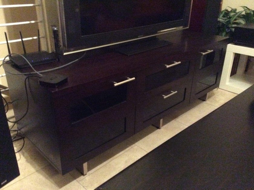 BDI 8927 Espresso Home Theater Cabinet