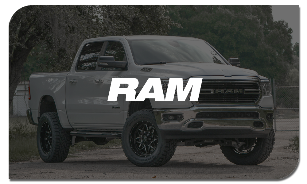 Shop Online for Off-Road Wheels for RAM Trucks