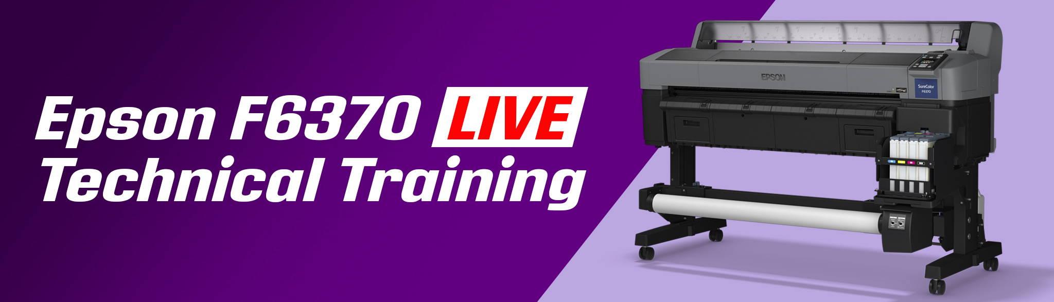 Epson F2100 Live Technical Training