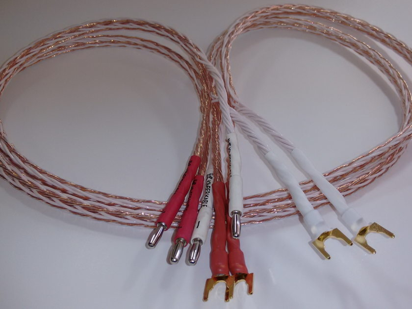 Kimber Kable 4ft 8TC Speaker Cable regular configuration