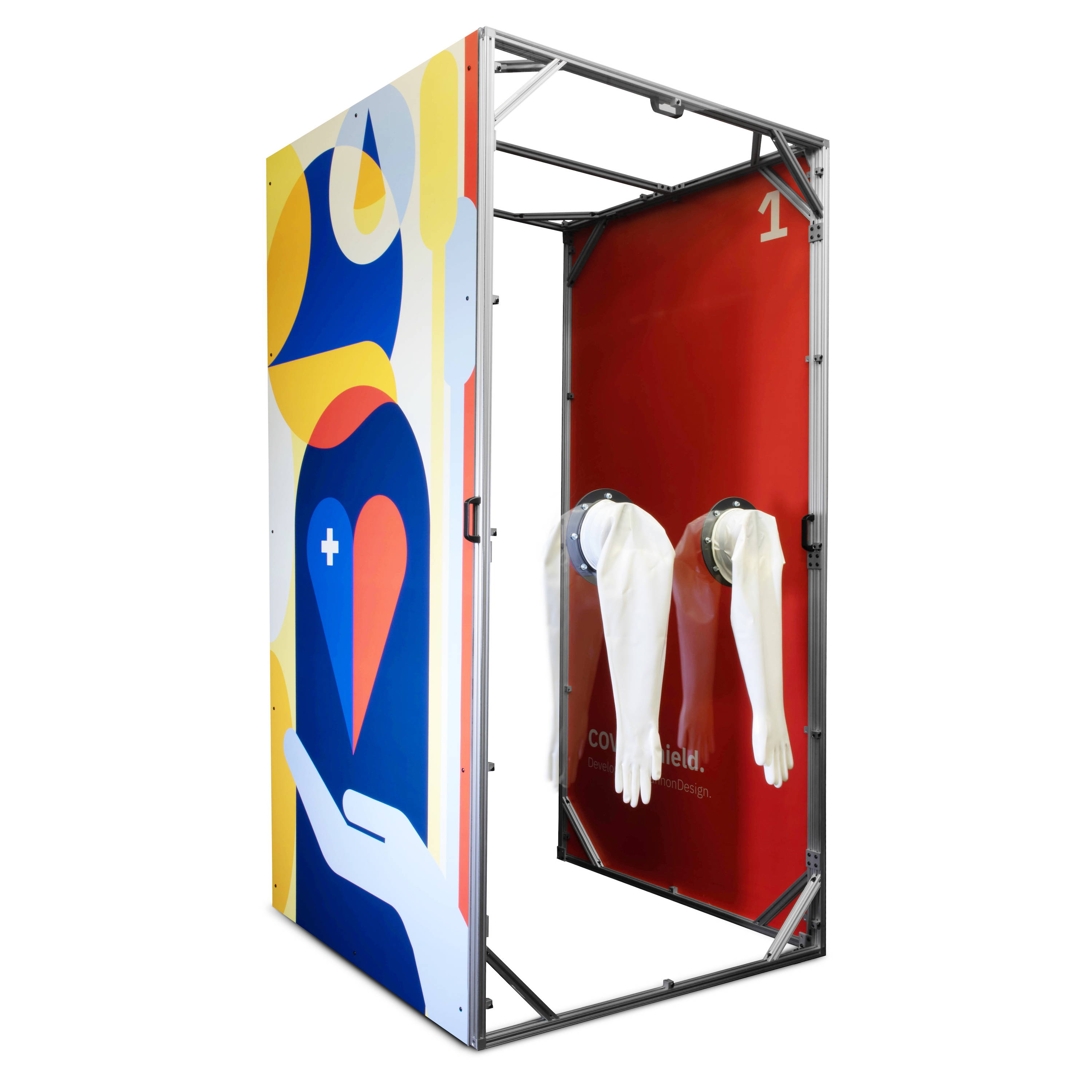 SnapCab COVID Shield testing pod for medical and healthcare facilities