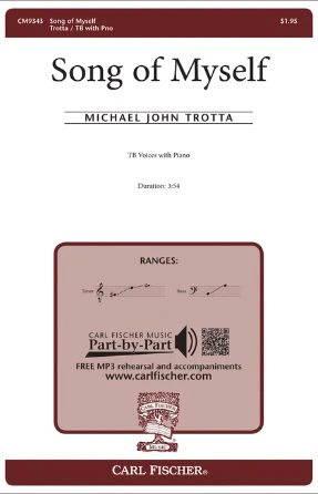 Song Of Myself TB - Michael John Trotta