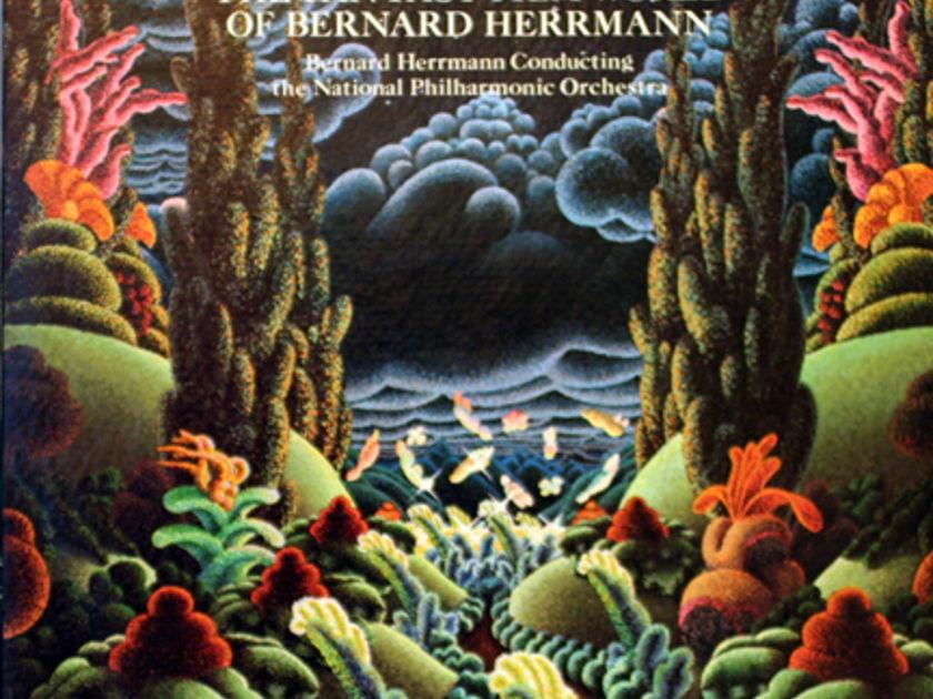 Bernard Herrmann; - The Fantasy Film World of Of Bernard Herrmann !950's Movie Music