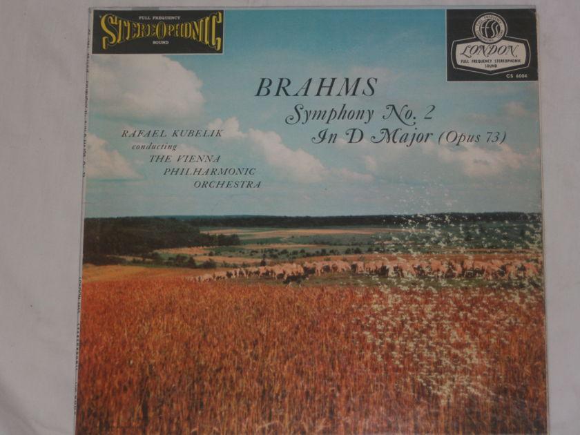 Brahms - Symphony No. 2 in D Minor (Opus 73) London Blueback CS 6004