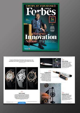 Forbes india the black steel