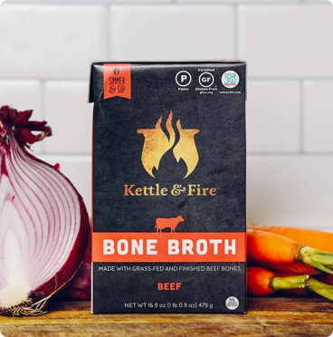 bone broth benefits kettle and fire