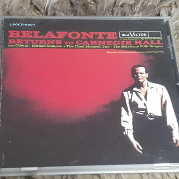 Belafonte Returns to Carnegie