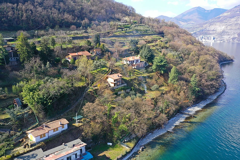 Sarnico - Living in a dream on Monte Isola