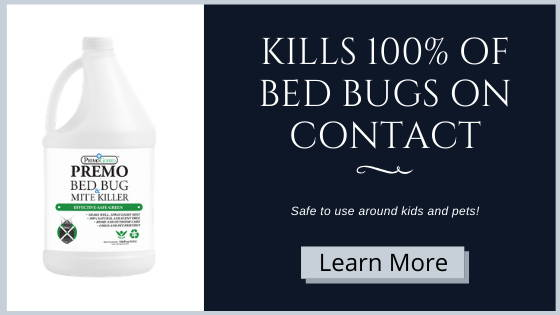 Premo Guard bed Bug Spray Kills 100% of bed bugs on contact