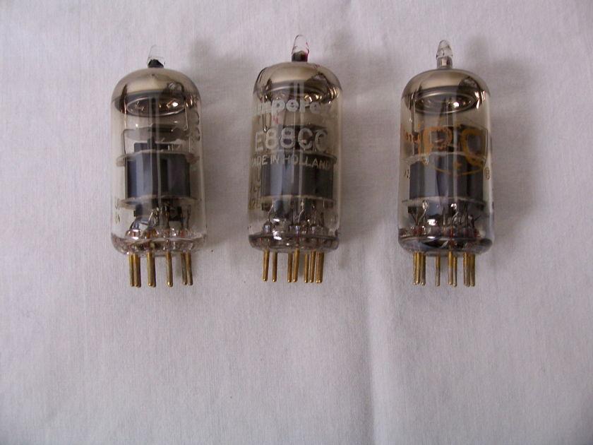Amperex PQ 6922/E88CC Tubes