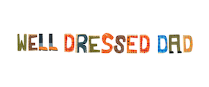 image of the Well Dressed Dad fashion blog logo which links to a review of the Robert Owen Oxford undershirt