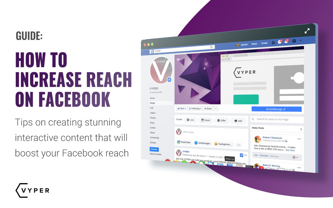How to Increase Reach on Facebook with Stunning Interactive Content
