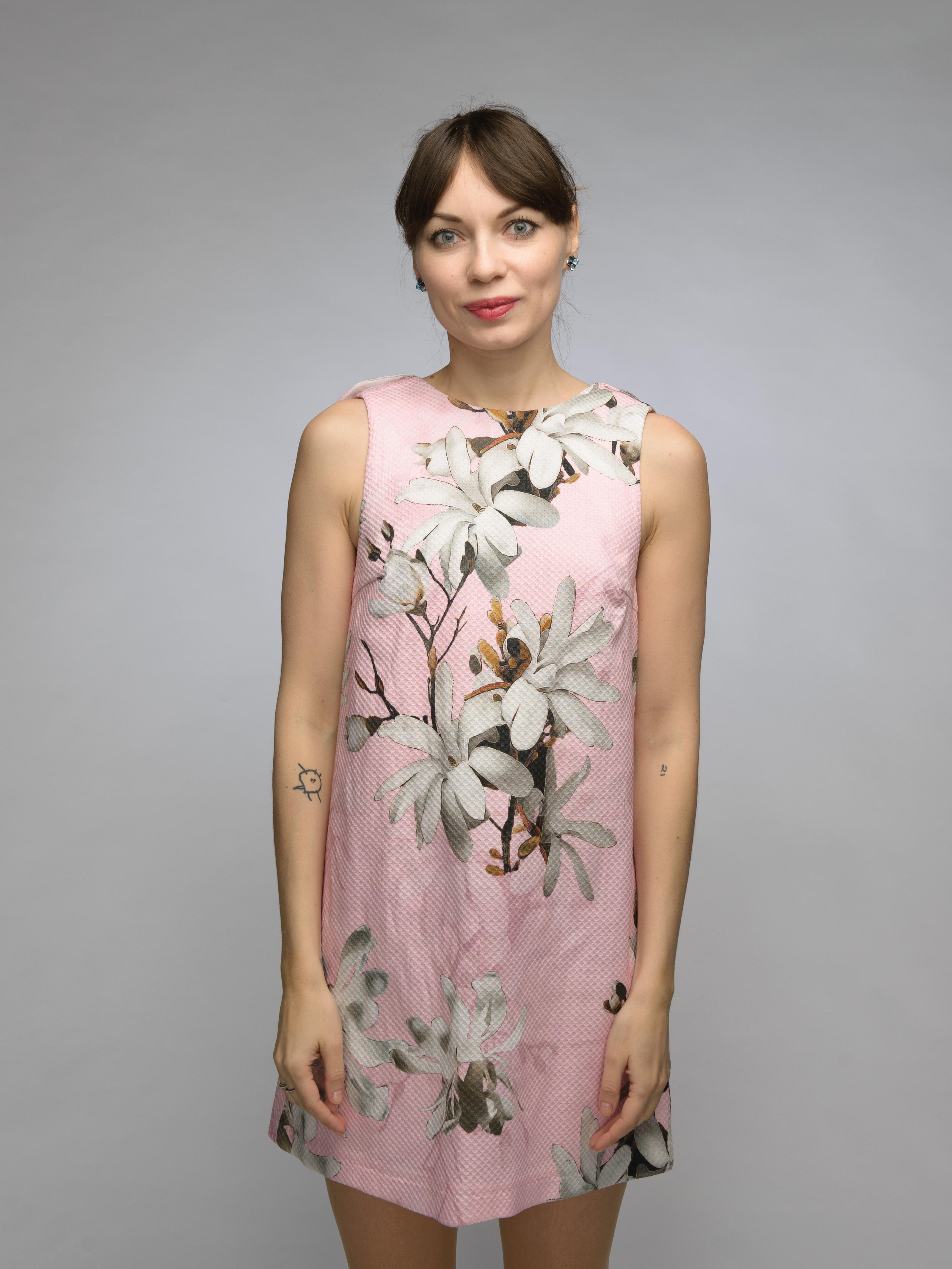 Платье с воланами на спине в магазине «Littleblack» на Ламбада-маркете e9dd7b8f89b