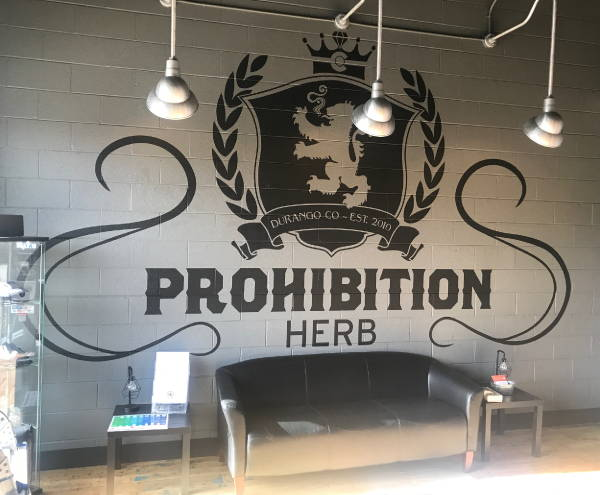 Interior Vinyl Wall Wrap -  Prohibition Herb Wall Graphic