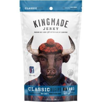 Kingmade Classic Flank Steak Beef Jerky