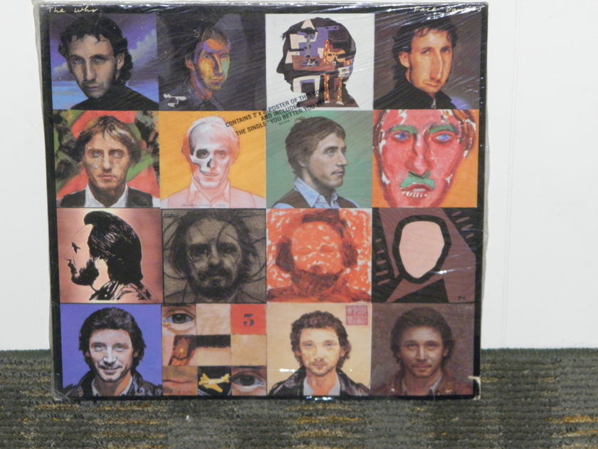 """The Who - """"Face Dances"""" STILL SEALED w/KOOL translucent sticker+ Included poster WB HS 3516"""