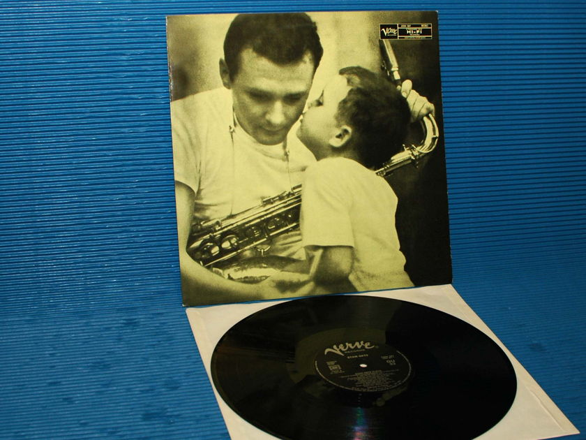 "STAN GETZ -  - ""Stan Getz Plays"" - Verve/Polygram 1953? French pressing mono"
