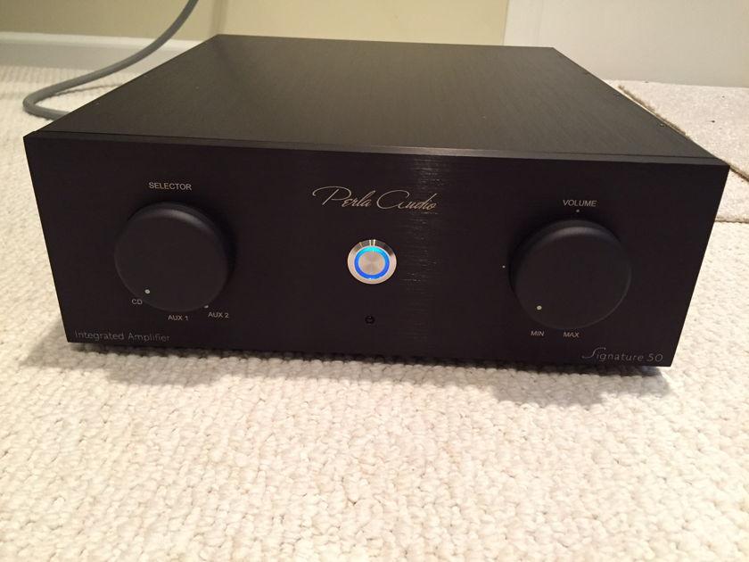 Perla Audio Signature 50 Integrated Amplifier - DEMO