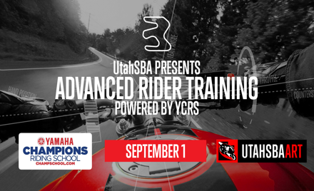 UtahSBA Advanced Rider Training (ART) | Sept 1st