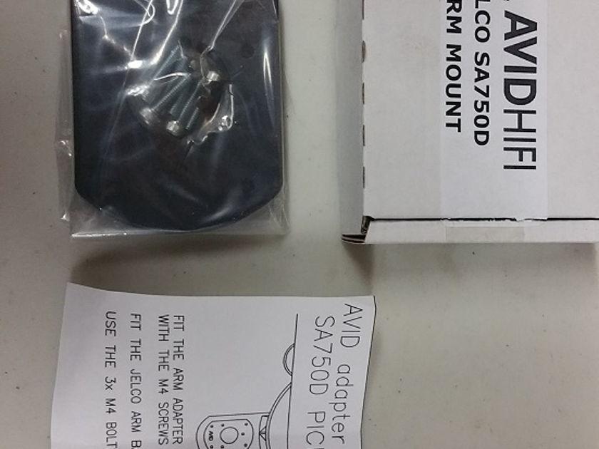 Avid mounting kit for Jelco SA750D tonearm