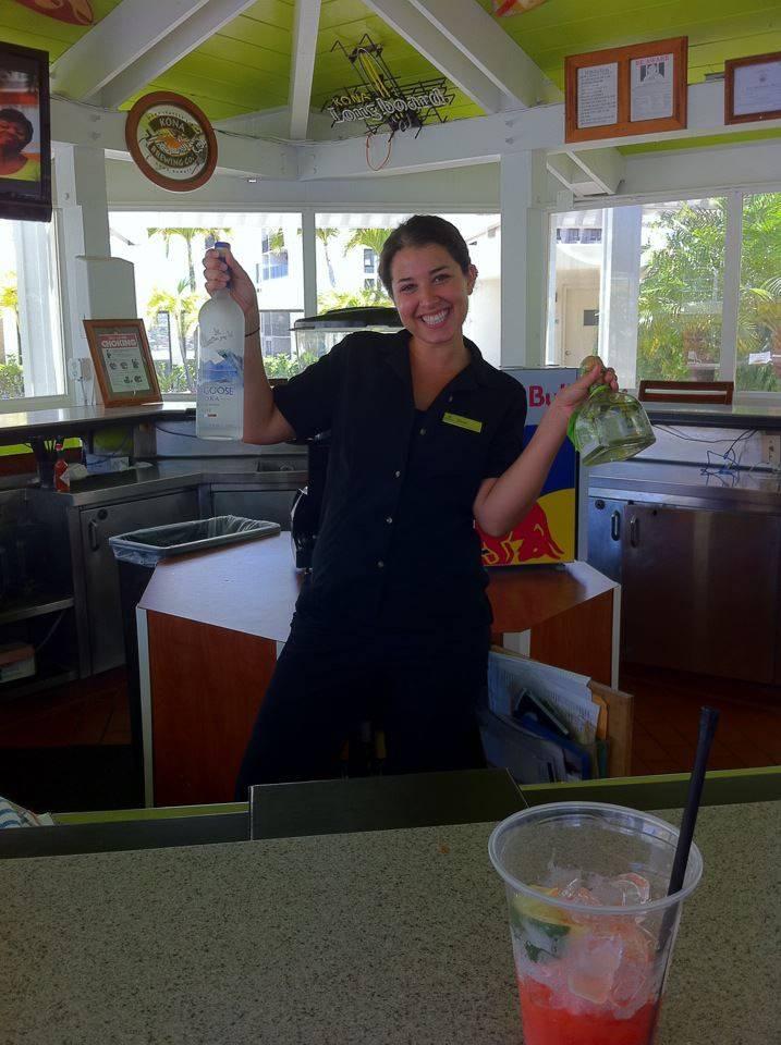 sarah wasser bartender hawaii
