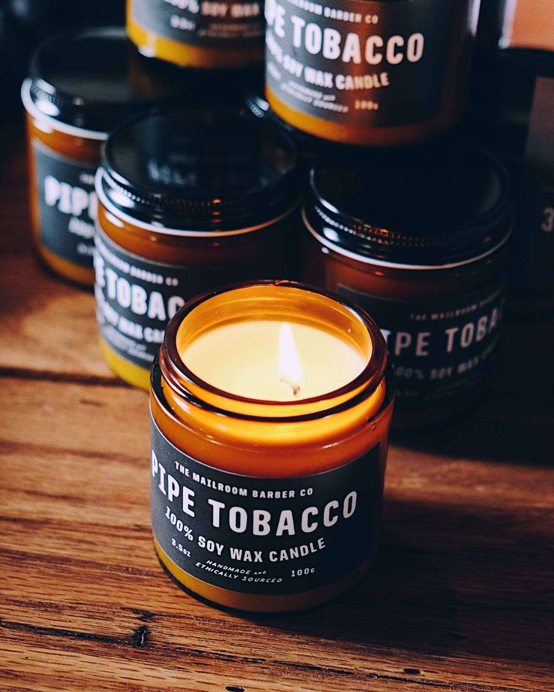 Pipe Tobacco Candle
