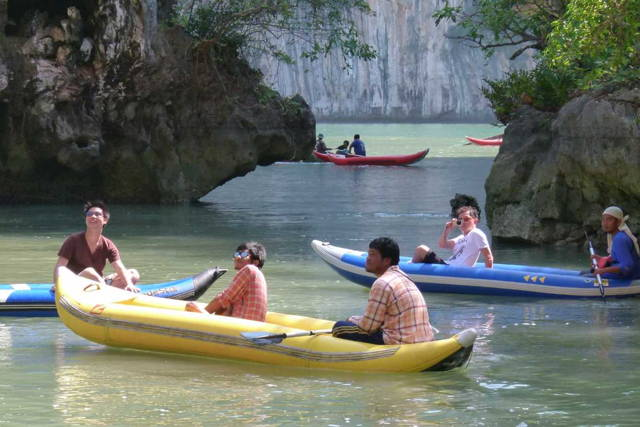 Phang Nga & Canoe by Speedboat