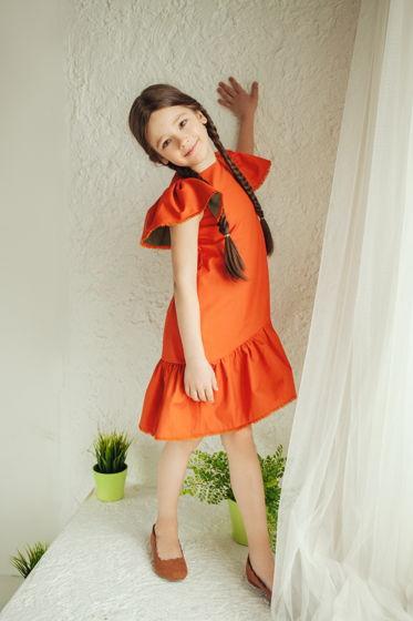 """Хлопковое платье """"Orange"""""""