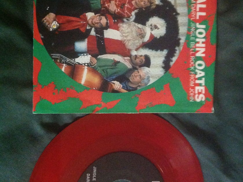 Hall  &  Oates - Seasons Greetings From RCA Red Vinyl Promo 45 With Sleeve