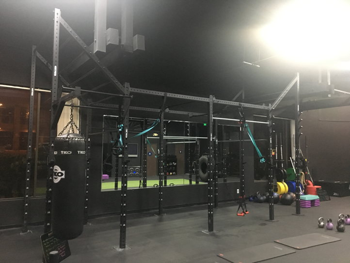 Huge Open Space Fitness Studio Strength Training and HIIT